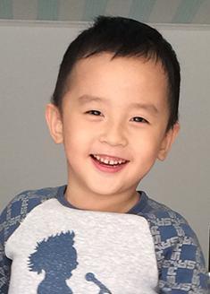 儿童模特_林俊健