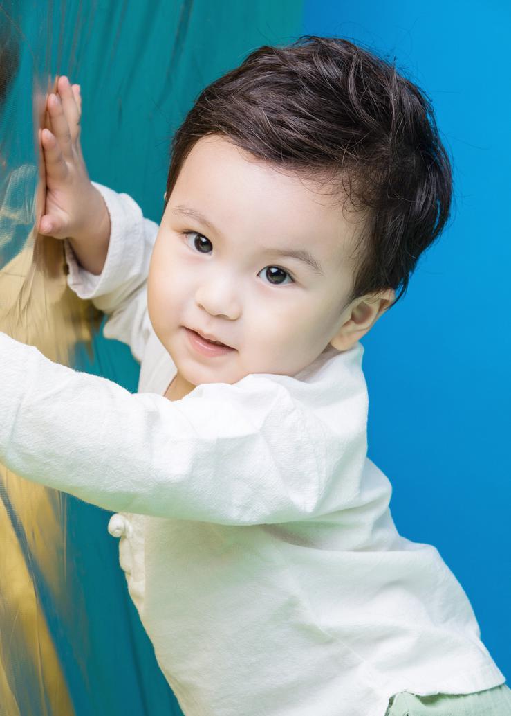 儿童模特_刘孟起