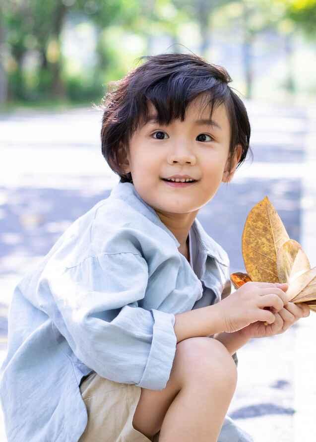 儿童模特_祺祺